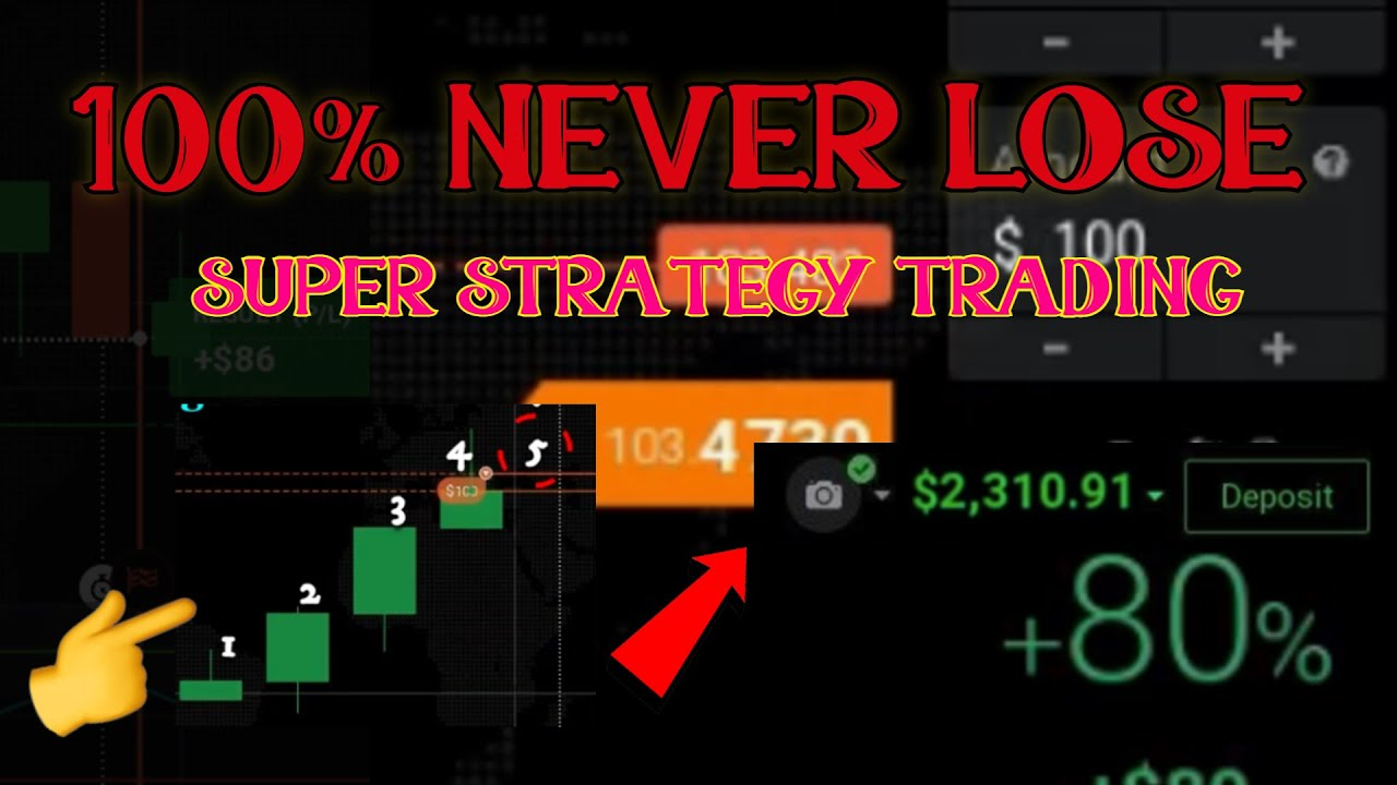 EVERY OPENING POSITION NEVER LOSS – MANDATORY TRIAL – IQ OPTION TRADING