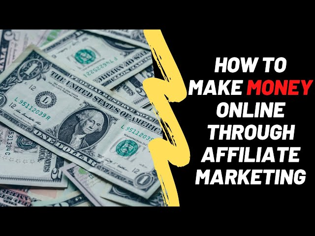 How To Make Money Online With Affiliate Marketing Using Iq Option
