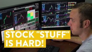 """[LIVE] Day Trading   This is Why Stock """"STUFF"""" is Hard!"""