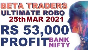 Live Trade Rs 53,000 Profit in Robo Trading | Algo Trade in Tamil
