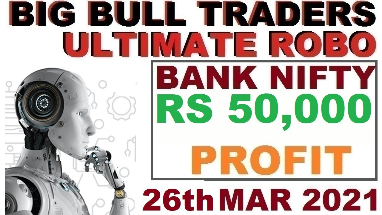 Robo Trade Live RS 50,000 Profit in Bank Nifty Options
