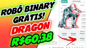 ✅ DAY TRADE BOT BINARY GRÁTIS – R$60,38 COM BOT DERIV RISE AND FALL DRAGON – TRADER BOTS CLUB