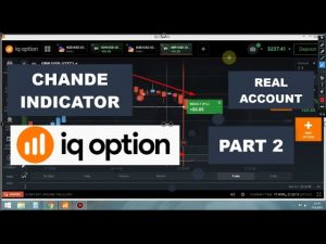 Chande Indicator Real IQ Option Tradings(PART 2)