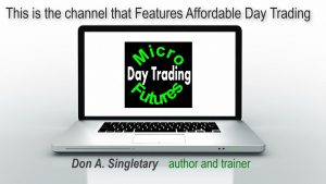 Day Trade Micro E-Minis – $106 in 7 minutes: Affordable Day Trading