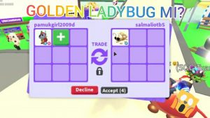 FR ROBO DOG TRADE!? FLY GOLDEN LADYBUG MI?