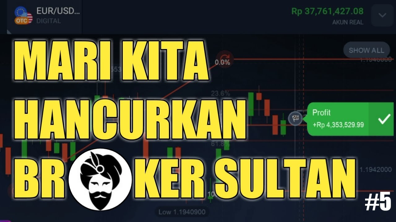 HANCURKAN BROKER SULTAN DENGAN TEHNIK SAKTI Iq option | Binomo | Quotex | Olymtrade