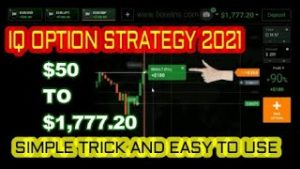 Iq Option Strategy 2021 – Simple Tricks And Easy To Use – Real Account