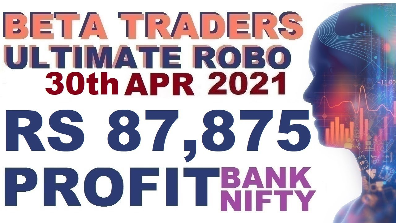 Live Trade Rs 87,875 Profit in Bank Nifty Options Robo Trading in Tamil