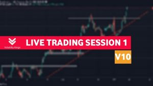🔴LIVE TRADING SESSION 1 (Volatility 10 Index) #Deriv