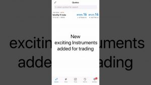 New trading Instruments added to Deriv #shorts