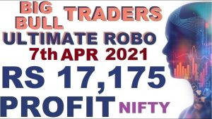 Nifty Options Live Trade | RS 17,175 Profit Scalping in Robo Trade
