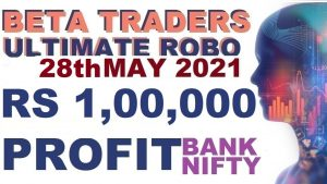1,00,000 Target Trading in Robo Trade|  Bank Nifty Options in Tamil