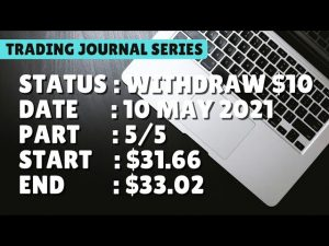 $33.02 WITHDRAW $10 | 10 may 21 p5/5 | Free Binary Bot Deriv Simple Strategy Trading Profitable