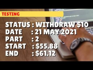 $61.12 WITHDRAW $10   21 may 21 p2   Free Binary Bot Deriv Simple Strategy Trading Profitable