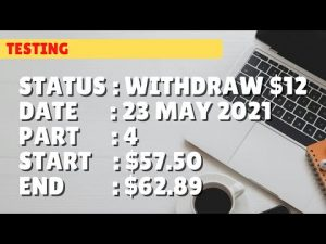 $62.89 WITHDRAW $12 | 23 may 21 p4 | Free Binary Bot Deriv Simple Strategy Trading Profitable