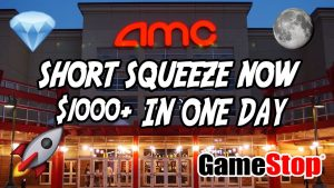 AMC + GME SHORT SQUEEZE IS LIVE!  $1000 IN DAY TRADE RECAP *GAMEPLAN*! #AMC100K #AMCAPE