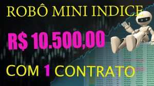 ROBO DE DAY TRADE ALTAMENTE LUCRATIVO NO MINI INDICE