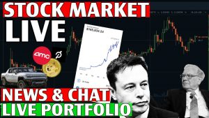 TRADING GROWTH STOCK EARNINGS! – Live Trading, DOW & S&P, Stock Picks, TOS, Day Trading & STOCK NEWS