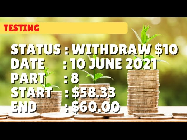$60.00 WITHDRAW $10.00 | 10 june21 part 8 | Free Binary Bot Deriv Simple Strategy Trading Profitable