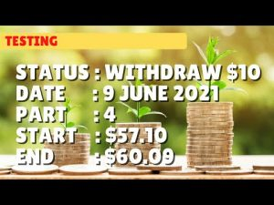$60.09 WITHDRAW $10.00 | 9 june 21 part 4 | Free Binary Bot Deriv Simple Strategy Trading Profitable