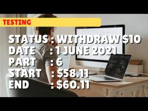 $60.11 WITHDRAW $10.00 | 1 june 21 part 6 | Free Binary Bot Deriv Simple Strategy Trading Profitable