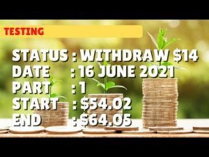 $64.05 WITHDRAW $14.00 | 16 june21 part 1 | Free Binary Bot Deriv Simple Strategy Trading Profitable