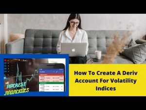 HOW TO CREATE A DERIV VOLATILITY INDICES TRADING ACCOUNT #MT5
