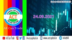 24thSep AUTO Algo ROBO Trade II @WORKSHOP we SHOW our LIVE Back office P&L Report II Pre Market
