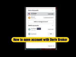 How to open account with Deriv Brokers
